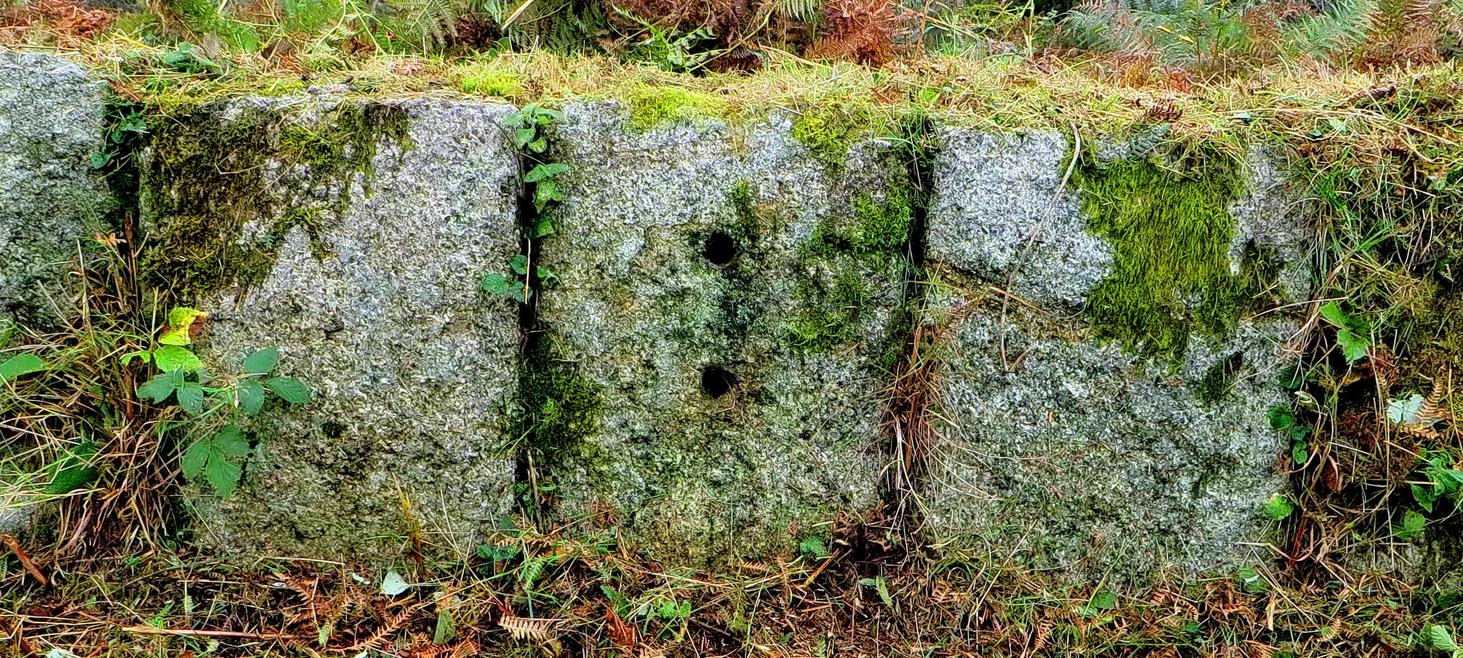 "The ""holey"" stone."