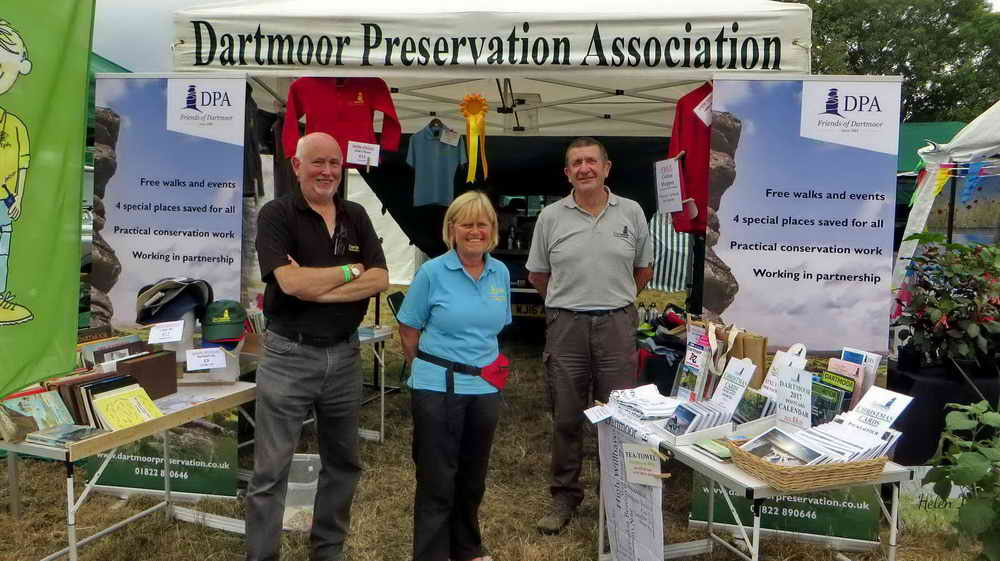 The DPA team at Chagford Show.
