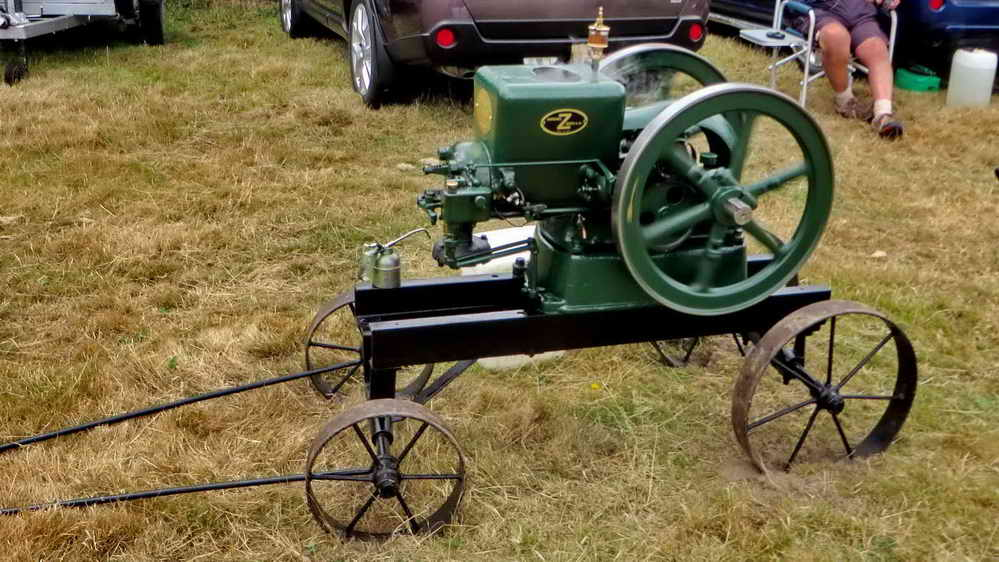 A Fairbanks 3 HP engine.
