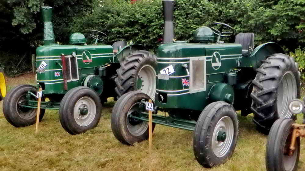 Two Field-Marshall tractors.