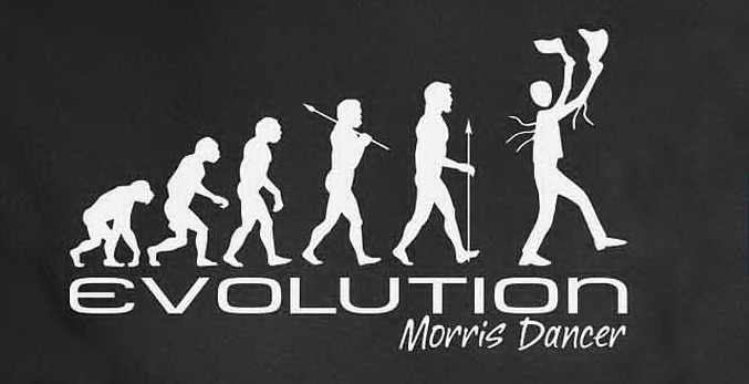 Evolution of Man tee shirt.