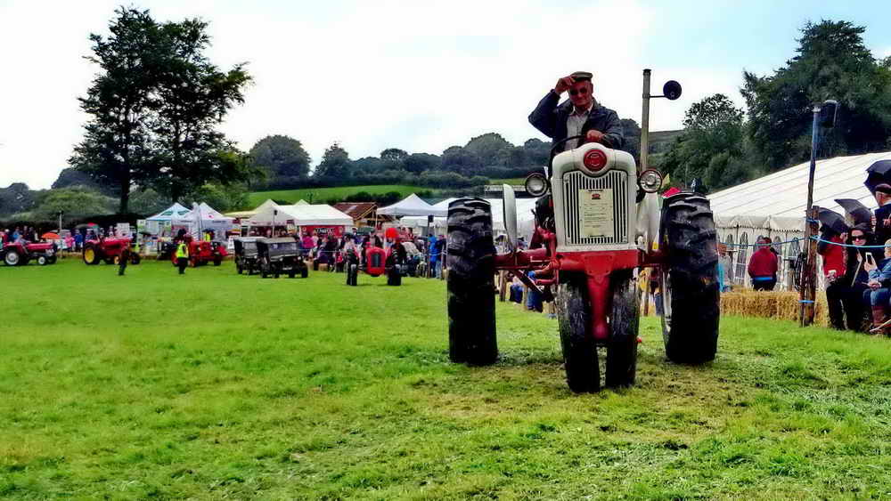 The Parade of Tractors.