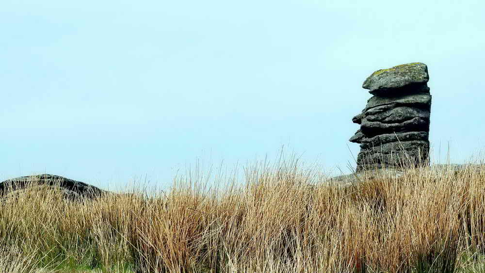 Rival to Bowerman's Nose, near Leeden Tor.