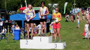 Winners of the Ladies 10 km race