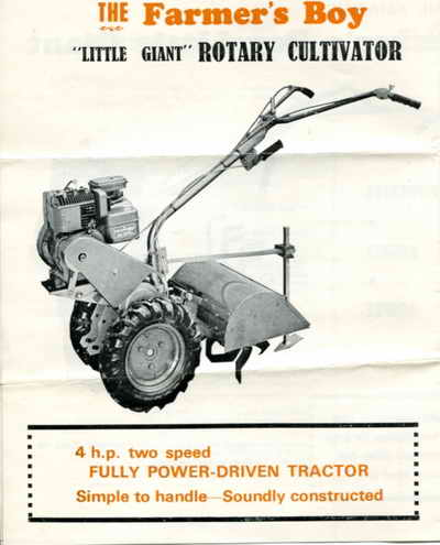 Farmer's Boy leaflet