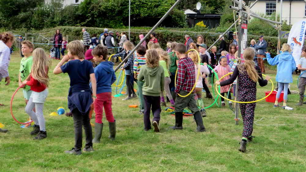 Children's event in the small ring