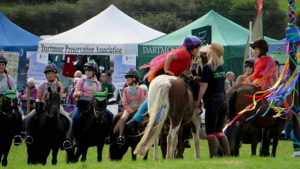 Dartmoor Hill Pony Musical Ride