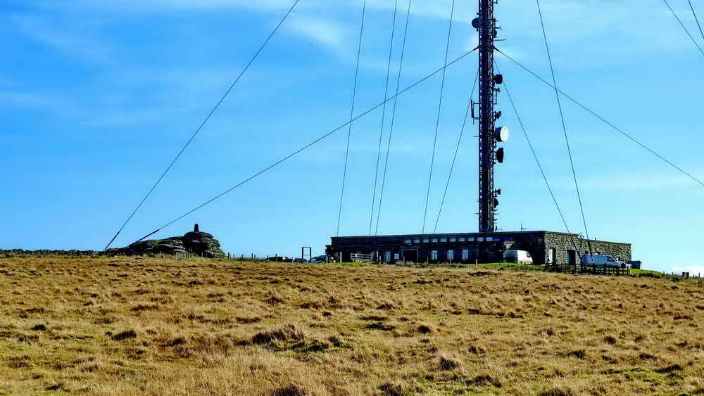 North Hessary Tor & TV transmitter