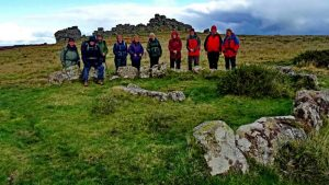 Walkers at Houndtor