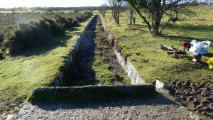 Cleared section of Plymouth Leat