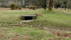 Rifle defence trench