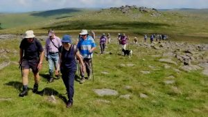 Walking back from Roos Tor to Great Staple Tor