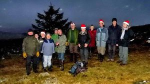 Marking the last conservation day of the year - who organises the Christmas tree lights?