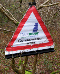 DPA Conservation Work sign
