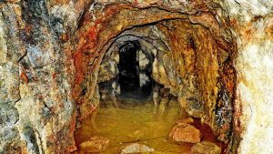 Looking into Bickleigh Vale Phoenix Mine