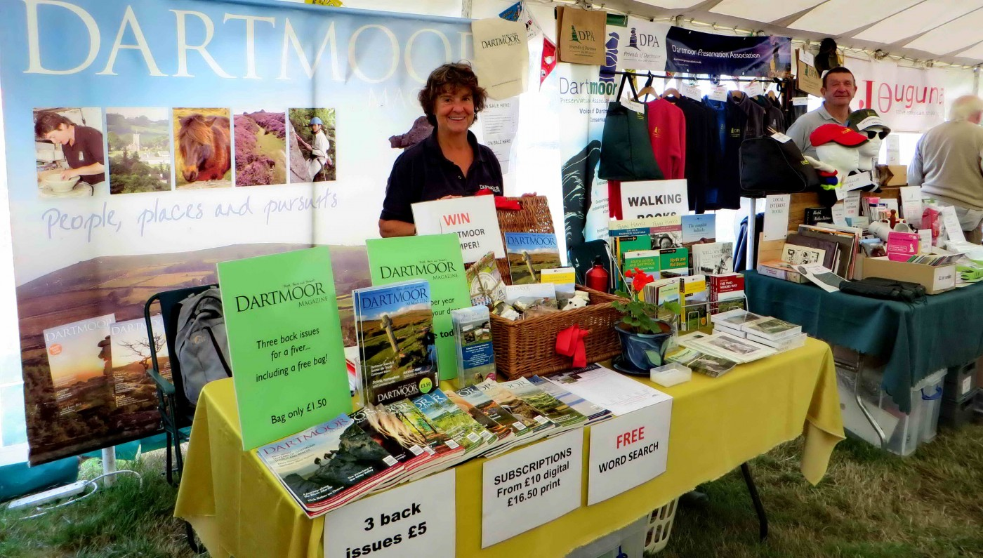 Dartmoor Magazine, often our neighbour at shows