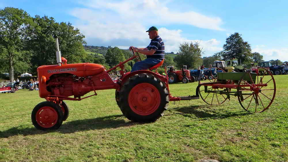 A seed drill - I remember one of these behind a heavy horse!