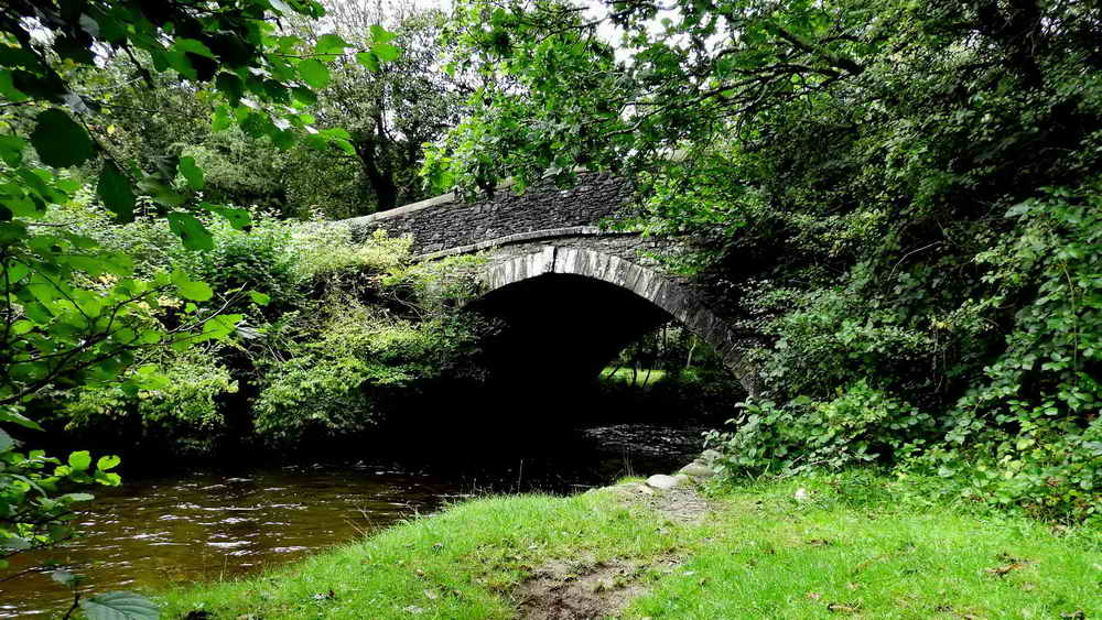 Bedford Bridge (aka Magpie Bridge) over the River Walkham