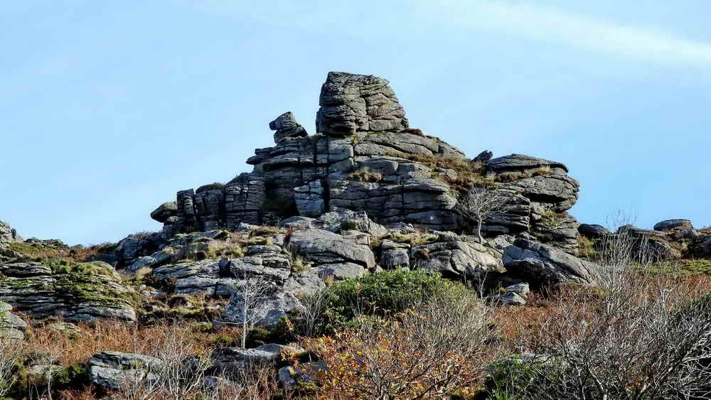 Honeybag Tor, zoomed view