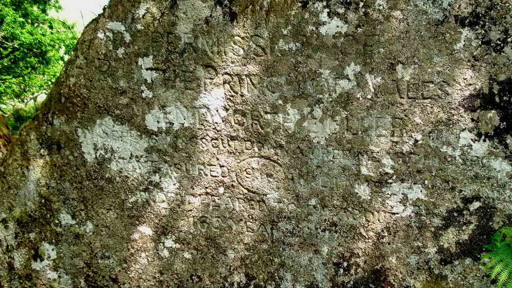 The Buller Stone inscription