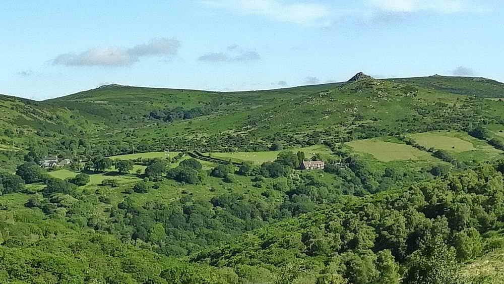 View to Sharp Tor and others